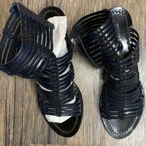 Sigerson Morrison Sandals; Navy; Size 8